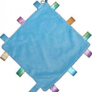 labelspeendoekje met naam blauw