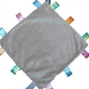 labeldoekje met naam grijs