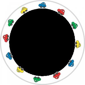 Bordje met naam en afbeelding een uniek kinderservies-2473