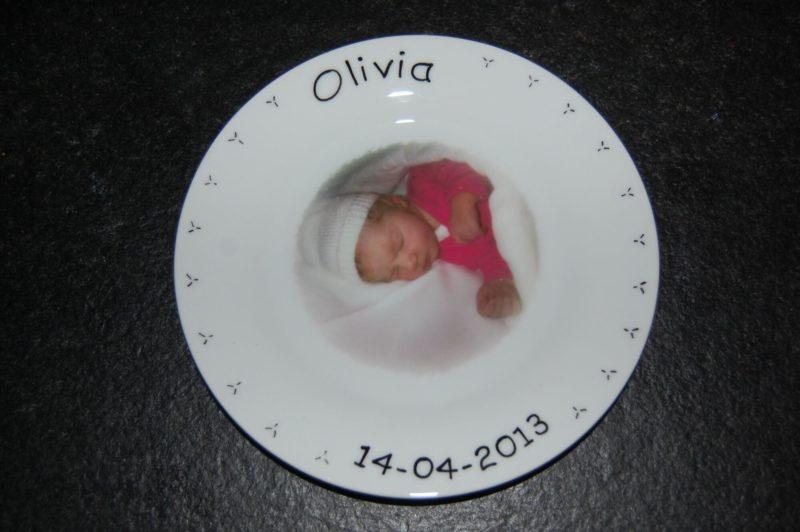 Bordje met naam en afbeelding een uniek kinderservies-2051