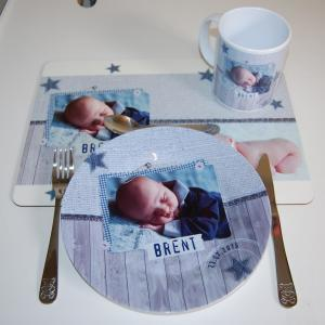 Kinderservies met placemat-1588