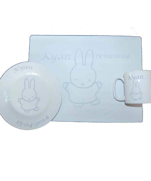 Kinderservies met placemat-807