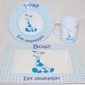 Kinderservies met placemat-1740