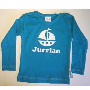 Baby T-shirt bedrukt met naam en afbeelding-2637