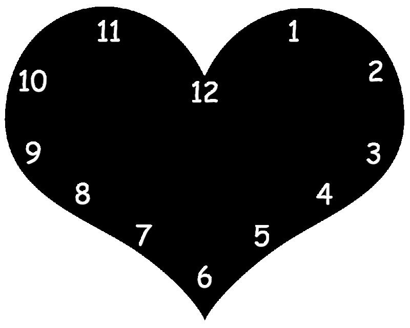 klok hart met eigen afbeelding-2576